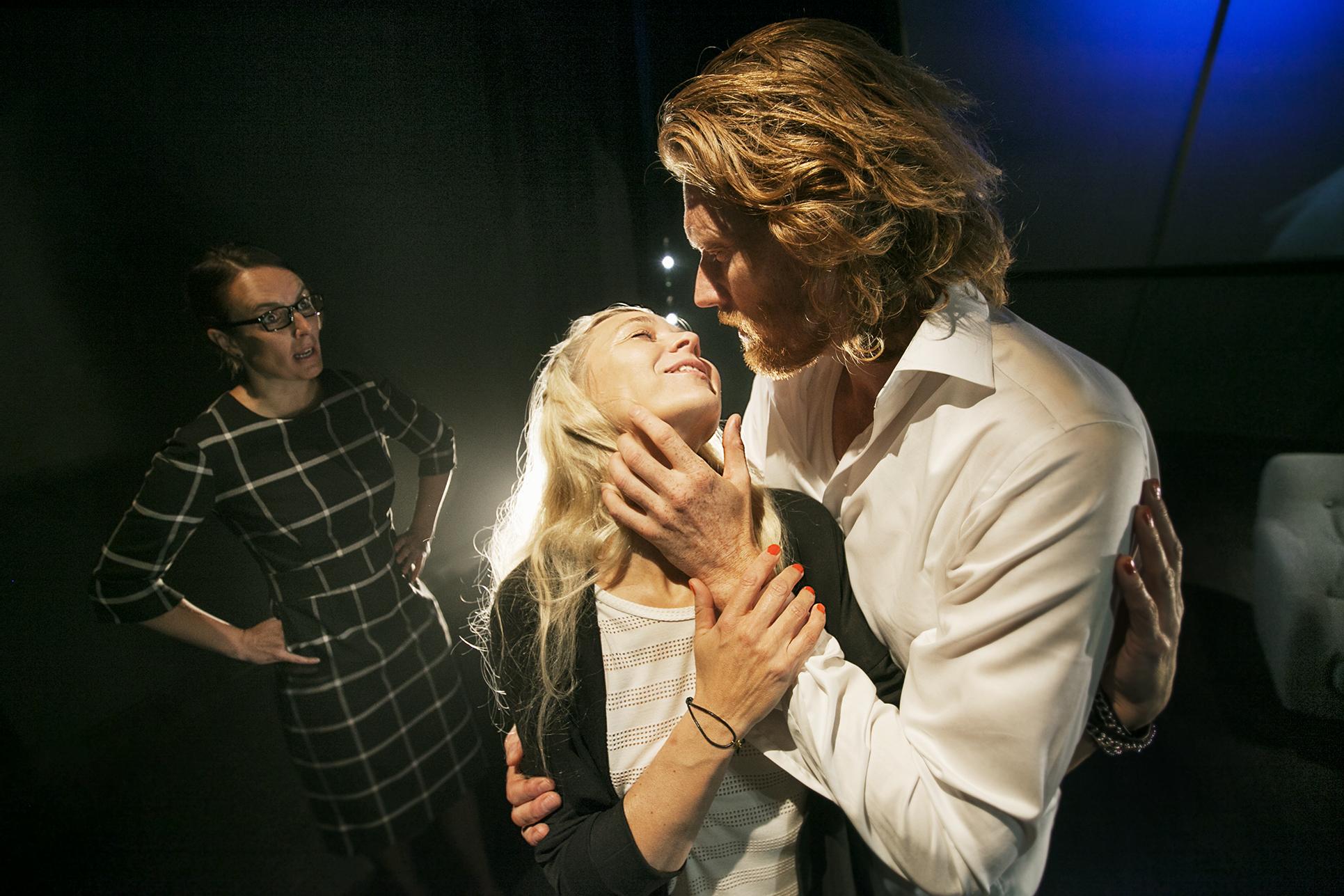 Marianne Søndergaard, Betina Grove og Nils P. Munk  Foto: Per Morten Abrahamsen