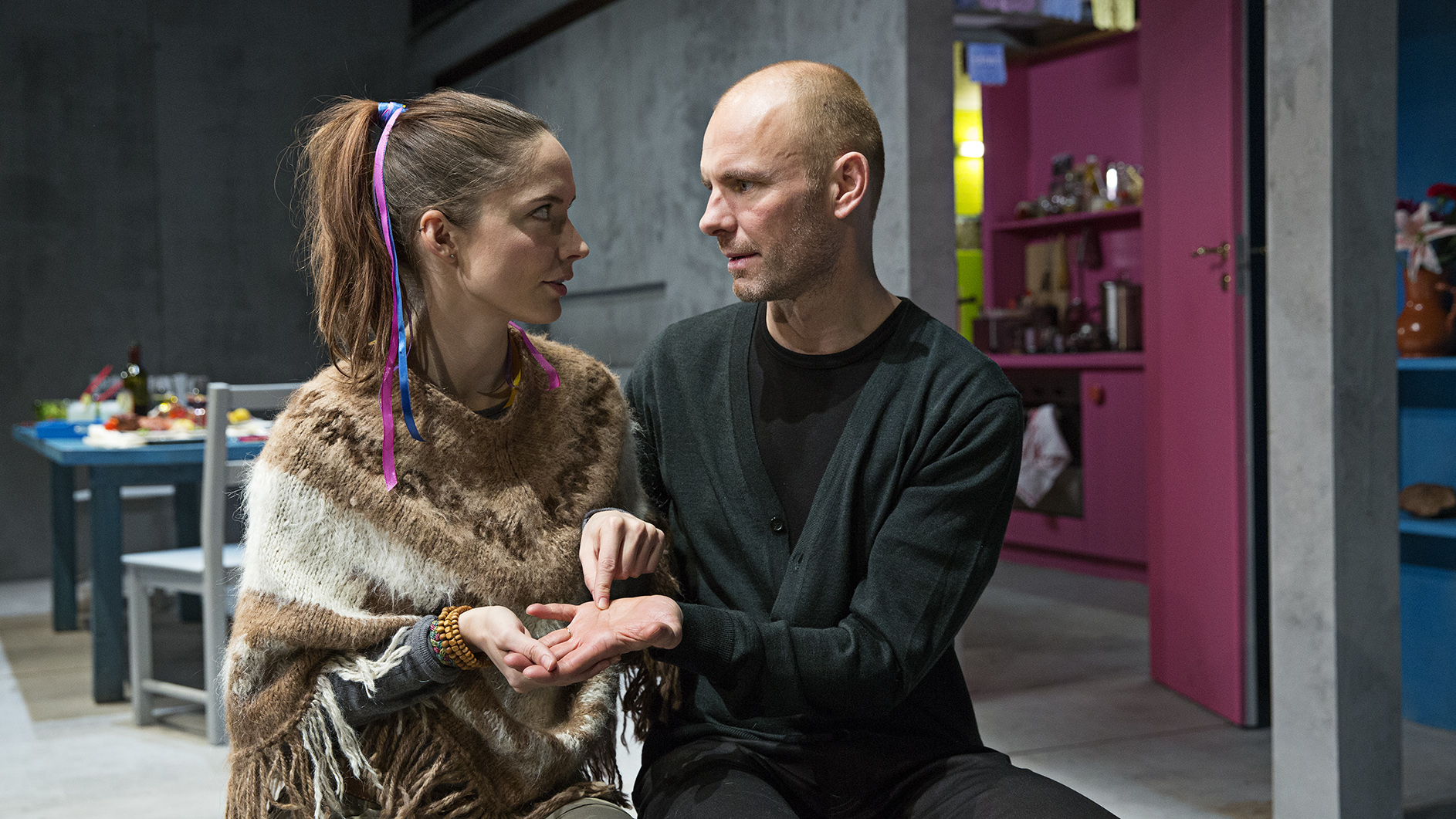 Neel Rønholt og Per Scheel-Krüger<br /> Foto: Christian Geisnæs