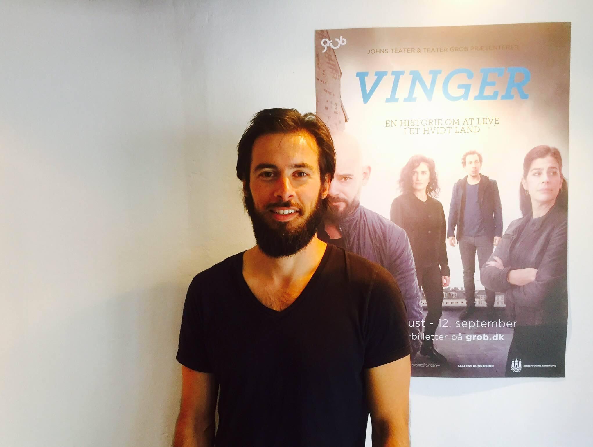 Caspar Juel Berg overtager Janus Bakrawis rolle i VINGER